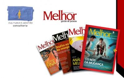Cultura e Gestão Consultoria recomenda a Revista MELHOR
