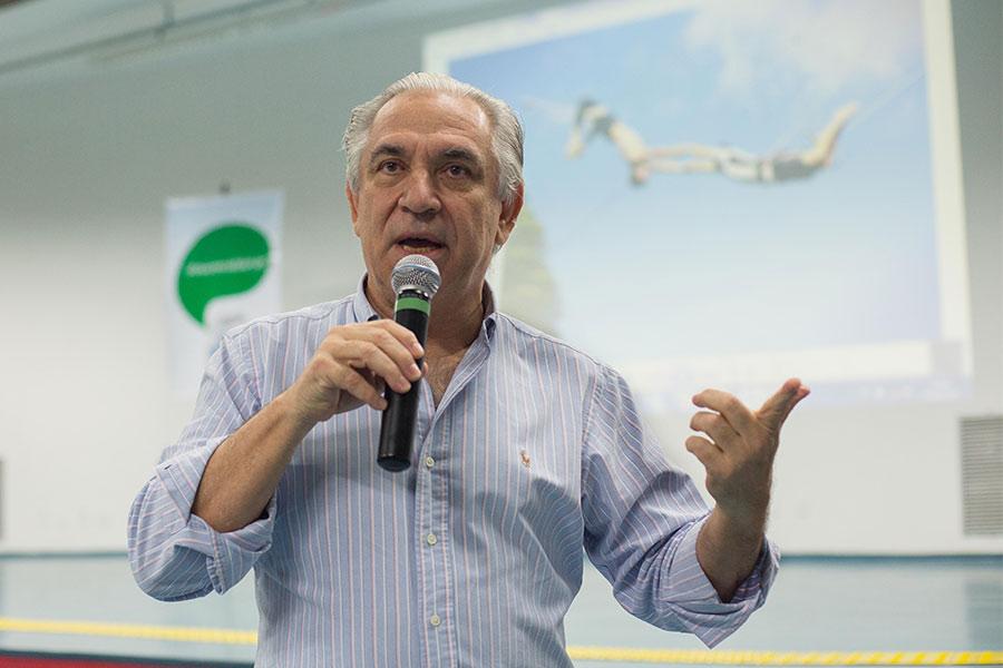 Osório Santos em palestra